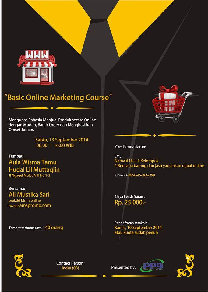 Basic Online Marketing Course 2014