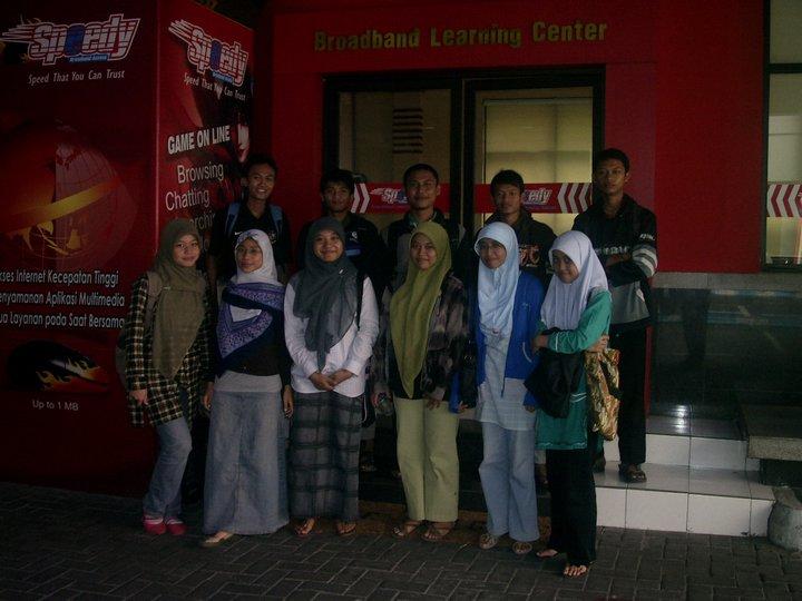 Pelatihan Membuat Blog Gratis di Surabaya bersama Airlangga Study Club 2011