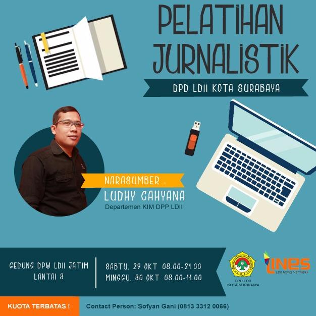 Pelatihan Jurnalistik DPD LDII Kota Surabaya 2016