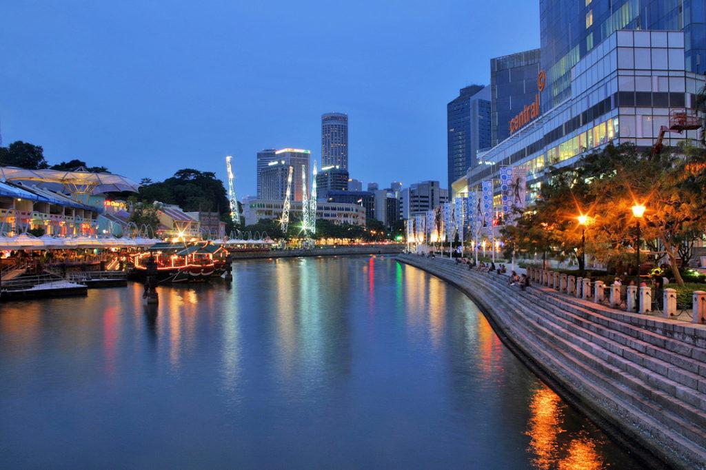 Singapore River bikingsingapore com