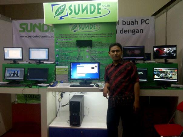 1 PC Server dengan Banyak PC Client