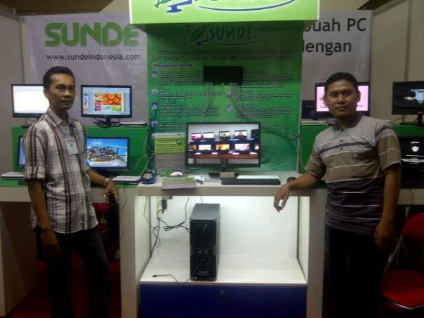 Sunde Ikut Pameran Komputer Dan Gadget APKOM Year End Sale 4 – 8 Desember 2013