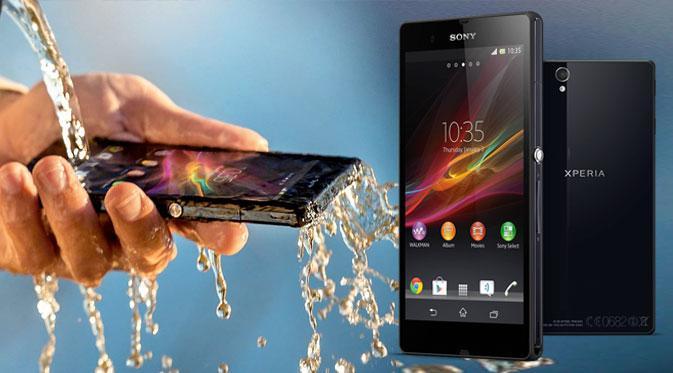 Contoh Smartphone Yang Memiliki Fitur Tahan Air