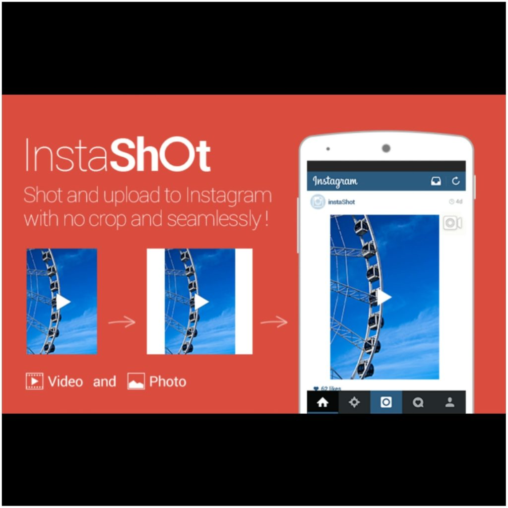 InstaShot Video Editor No Crop