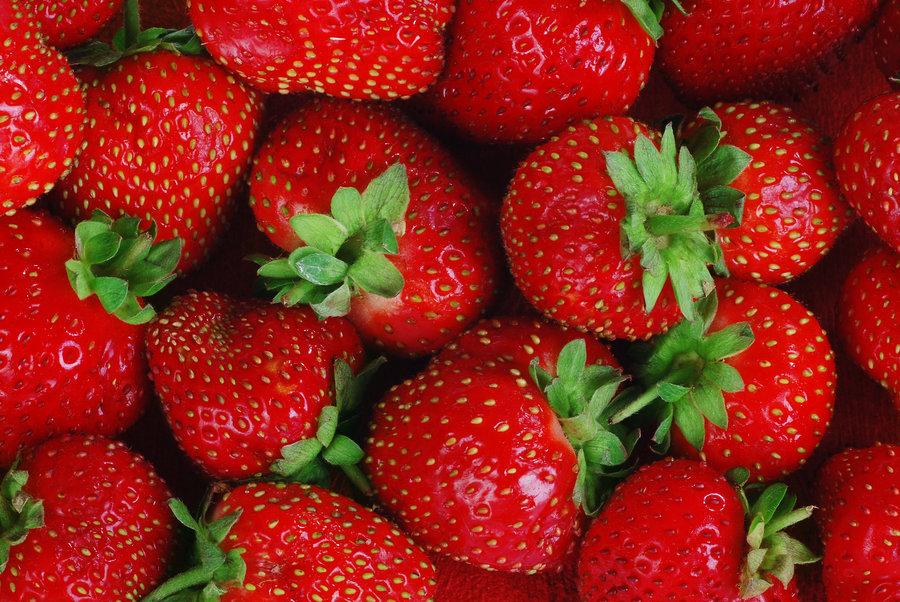 Buah Stroberi Yang Bagus