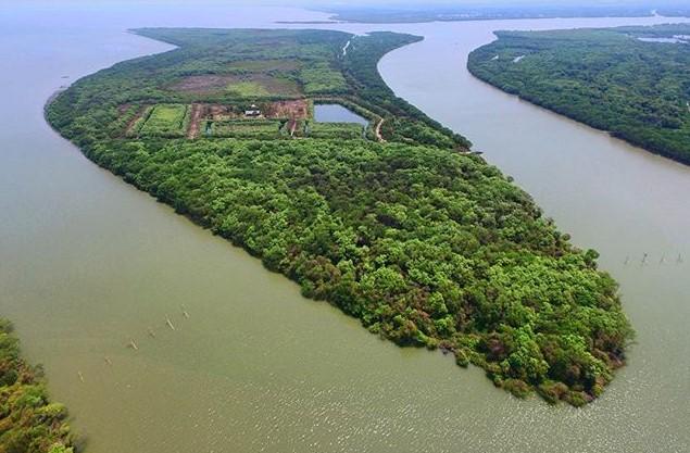 Keajaiban Terbentuknya Pulau Srinah