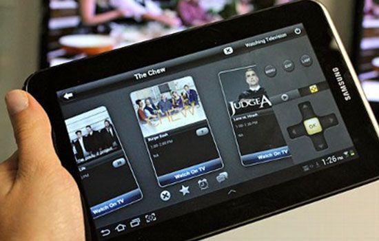 Tablet Bisa Jadi Remote Control