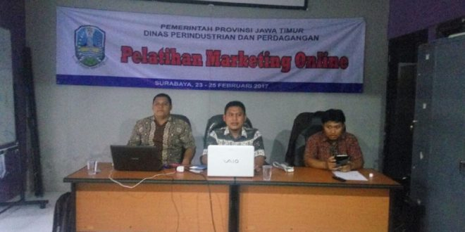 Pelatihan Marketing Online Gratis di Surabaya 2017