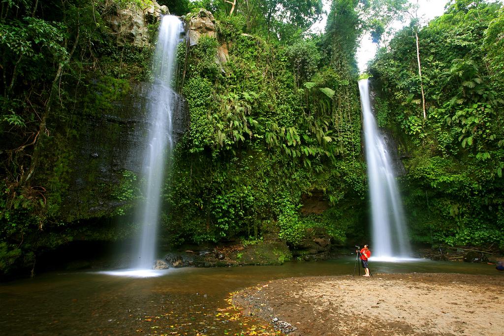 Air Terjun Benang Stokel, Aik Berik, Lombok Tengah