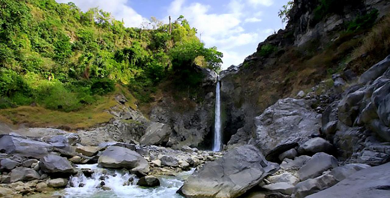 Air Terjun Mayung Putih, barat Sajang, Lombok Timur