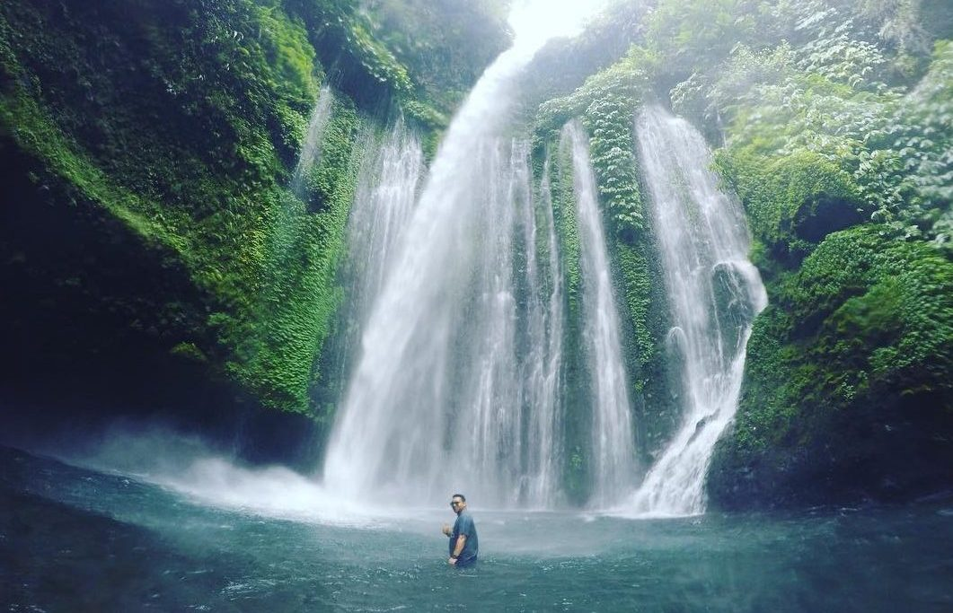 Air Terjun Tiu Kelep, Senaru, Lombok Utara