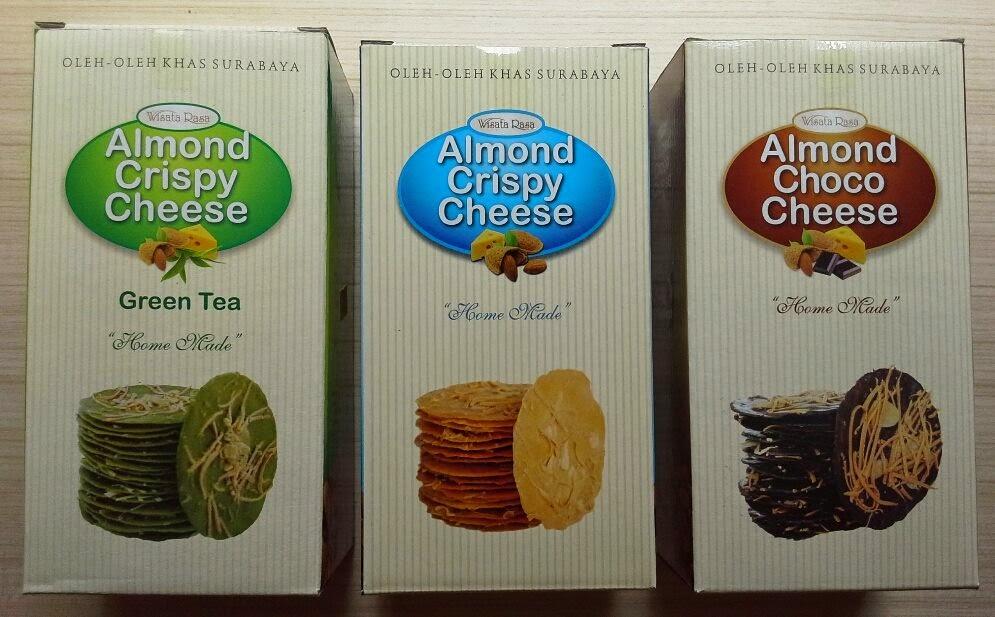 Almond Crispy-makanan khas Surabaya