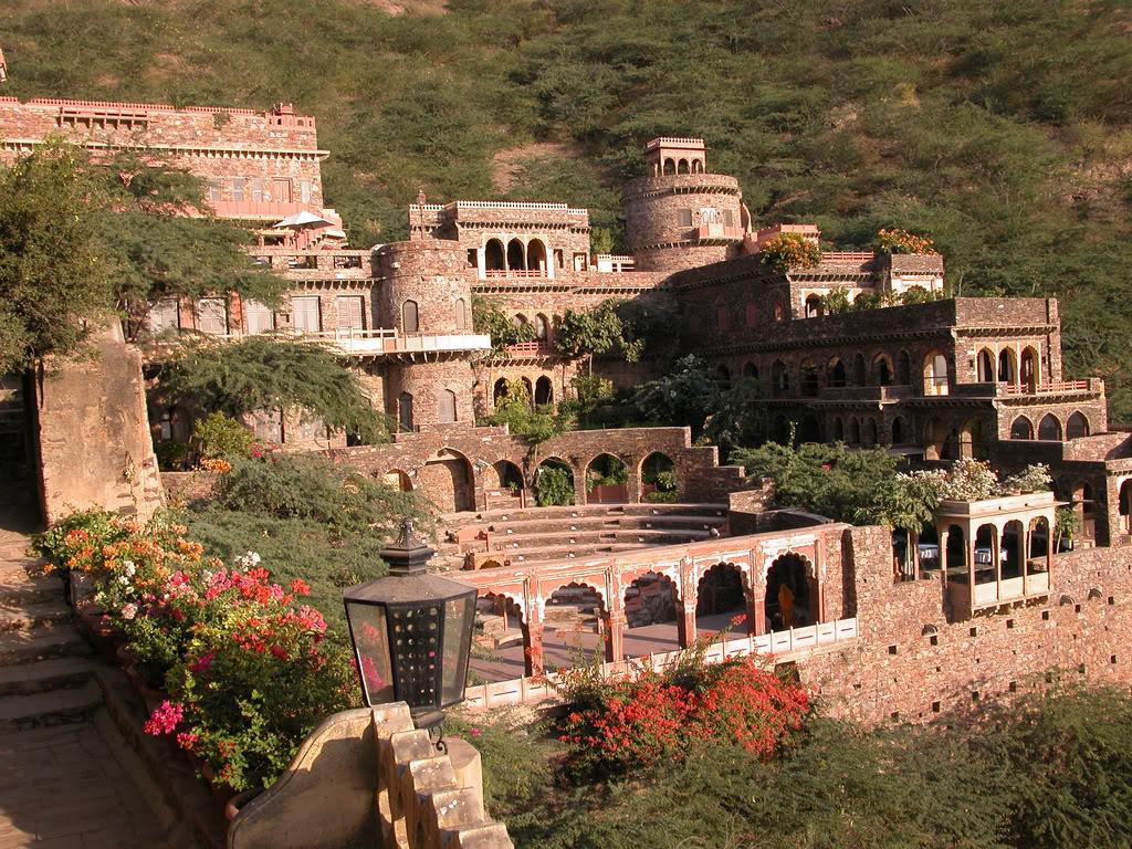 Benteng Bhangarh Fort, India