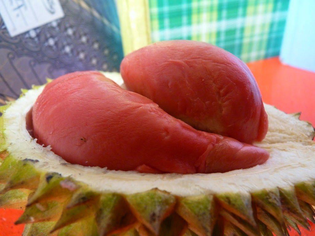 Durian Merah Khas Bnayuwangi