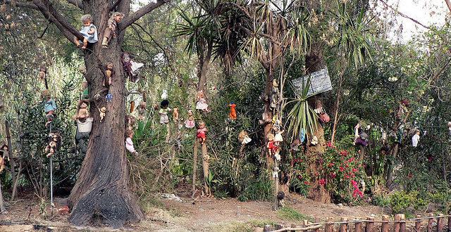 Isla de las Munecas, Meksiko