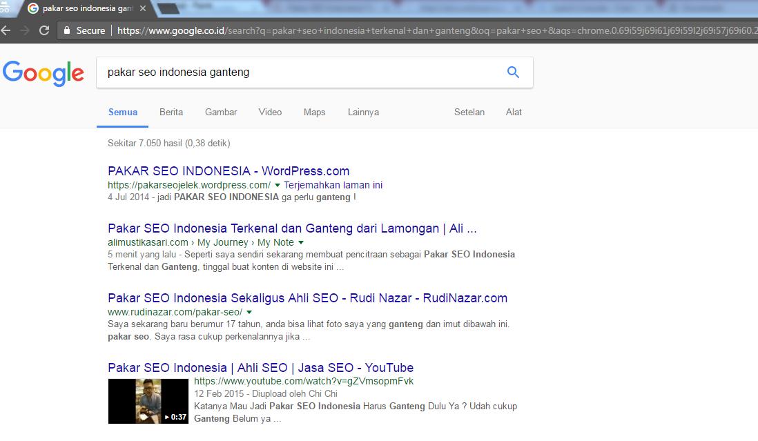 Pakar SEO Indonesia Ganteng