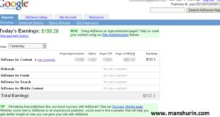 Cara Mudah Mendapat $100 Perhari Dari Google Adsense Website Indonesia