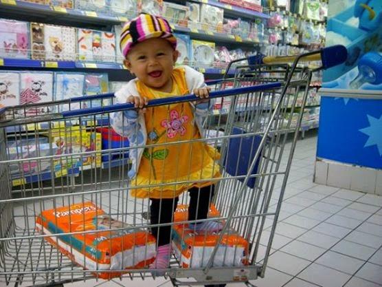 Hasna Fauziah Irchamna – Anak Pertamaku