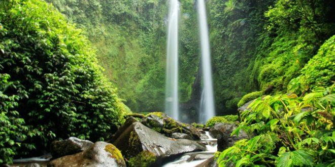 Beberapa Air Terjun Yang Ada Di Kaki Gunung Rinjani